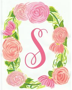 For today's freebie, I'm sharing a these pink, floral initial printables. I designed this with nursery decor in mind, but these can work anywhere in your home either alone or part of a gallery wall. To download, simply click the name of the letter of your choice below. You can then save the file to your computer or print directly from the browser. To print, please see suggestions below. Free Printables A B CD E F G H I J K L M N O P Q R S T...