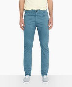 Levi's 510™ Skinny Fit Line 8 Pants - Aegean Blue - Jeans & Pants