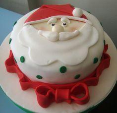 Santa Claus - cake by Vânia Elihimas