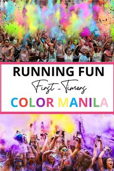 Here in the Philippines, we have a cool fun run event that we called Color Manila every part of the city they make this event for family friends and love ones bonding and make a lot of fun especially about the powder colors explode, fun run and get a freebies