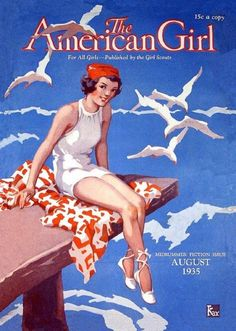 'The American Girl' magazine covers, 1930s