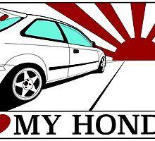 JDM sticker for Honda car fans by uhol Jdm Stickers, Artworks, Fans, Autos, Art Pieces