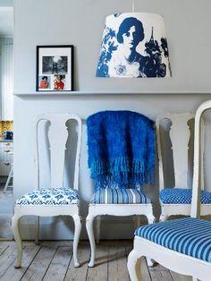 Yves Klein blue...