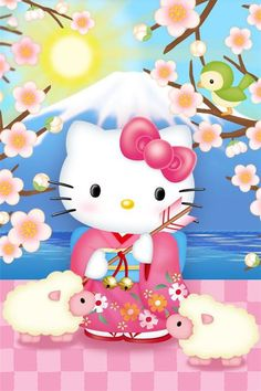 New Wallpaper Cartoon Love Hello Kitty 23 Ideas Hello Kitty Art, Hello Kitty My Melody, Hello Kitty Items, Sanrio Hello Kitty, Hello Kitty Iphone Wallpaper, Sanrio Wallpaper, New Wallpaper, Screen Wallpaper, Little Twin Stars