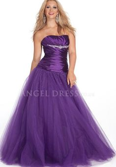 Ball Gown Taffeta Scoop Natural Waist Floor Length Sleeveless Prom Dress