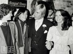 The wedding of Jaclyn Smith and Dennis Cole, October 29, 1978