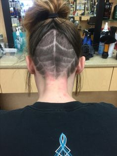 Spider web undercut!!! SmartStyle salon AJ Arizona