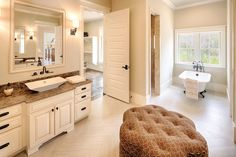 Country Style House Plan - 4 Beds 4.50 Baths 5274 Sq/Ft Plan #928-12 Interior - Master Bathroom - Houseplans.com