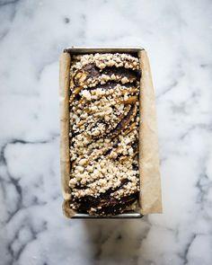 king arthur flour chocolate babka | two red bowls