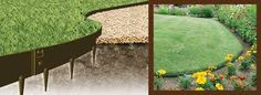 Image result for metal garden edging