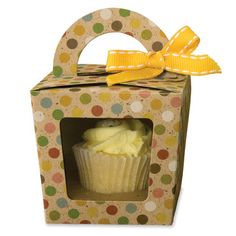 Create the perfect mini cupcake box for the perfect favor. Cupcakes are still such a big trend and this box is great for any occasion and any event. This die is sure to make your party a hit. See more at www.accucutcraft.com