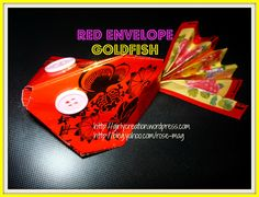 Red Envelope Goldfish #TBCcrafters