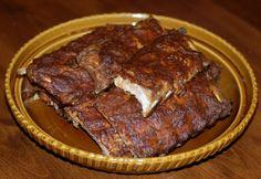 Hiidenuhman keittiössä: Hitaasti kypsytetyt ribsit uunissa