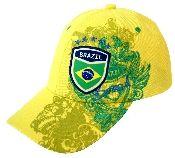 Brazil Soccer Baseball Cap by GOL.