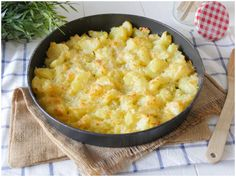Patate al parmigiano Cooking Recipes, Healthy Recipes, Healthy Food, Antipasto, Macaroni And Cheese, Good Food, Dishes, Vegetables, Ethnic Recipes