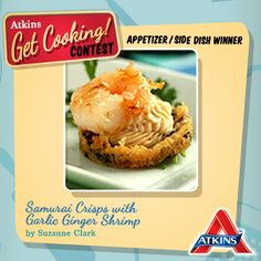 Need a show-stopping appetizer? You can't go wrong with Suzanne Clark's Samurai Crisps with Garlic Ginger Shrimp, one of the winners of our Get Cooking contest!