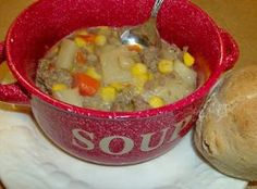Country Beef Chowder Slow Cooker