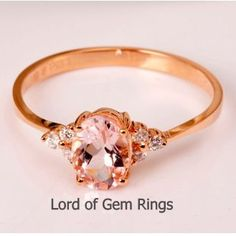 Metal Type: Solid 18k Rose Gold (White gold, Yellow gold available)  Size: available for choice    Main Stone: