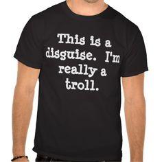 Troll costume t-shirt