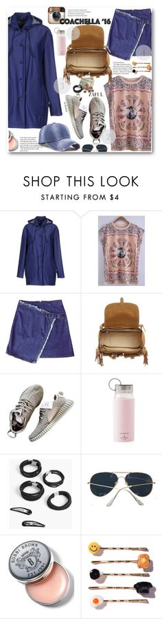 """Pack for Coachella!"" by beebeely-look ❤ liked on Polyvore featuring M.GRIFONI DENIM, Yves Saint Laurent, Kate Spade, Boohoo, Bobbi Brown Cosmetics, Venessa Arizaga, zaful and packforcoachella"