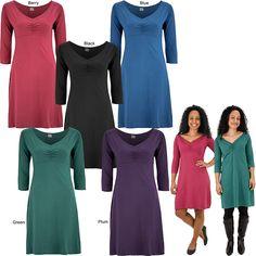Better Than Basic Organic Cotton Dress at Global Girlfriend (BLACK)