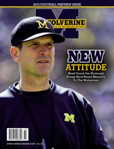 Michigan Football Preview | 160 full-color, glossy action-packed pages of Michigan football