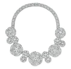 An Elegant Diamond Necklace, by Cartier