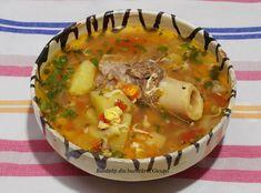 Bunătăți din bucătăria Gicuței: Supe/Ciorbe Cheeseburger Chowder, Soup Recipes, Food And Drink, Cooking, Roman, Happy, Fine Dining, Pork, Romanian Recipes