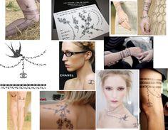 Chanel tattoo Chanel Tattoo, Fake Tattoos, Triangle, Ink, Jewelry, Tatoo, Deceit, Tattoos, Jewlery