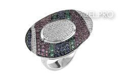 Перстень с Алмазами №80472VN