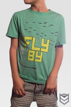 Fly By - Nothing says Valor like gearing up and strapping yourself to a massive engine with wings bolted to it. Encourage your little one to take to the skies with this unique graphic tee!