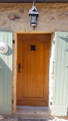 Porte ch ne anse de panier avec petits bois mortais s for Hauteur porte entree