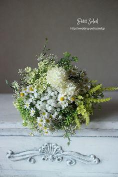 小花のブーケ 造花 wild flowers bouquet