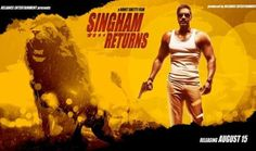Bajirao Singham the fearless cop has returned and this time he'll seen battleing Amole Gupte who is a Godman dealing in black money. Just like it's presequel Singham Returns promises some heavy dialogues bazzi in Singham returns. Some deaths and Gravity  defying stunts and action blockbuster a slice of which we get in power-pack trailer of Singham Returns.