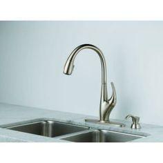 Kohler Barossa Faucet : this kohler barossa pull down kitchen vibrant stainless sink faucet ...