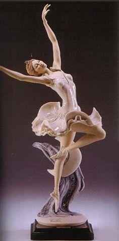 "GIUSEPPE ARMANI FLORENCE FIGURINE-""Armani Nocturne""-1446C    Brand: Armani"