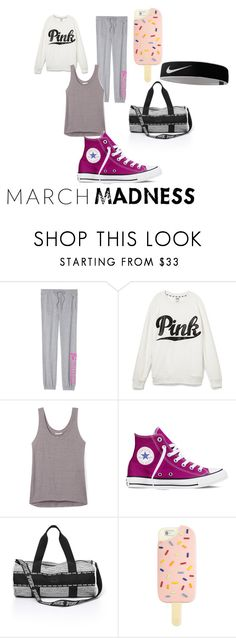 """""""Untitled #157"""" by diytrickster ❤ liked on Polyvore featuring Victoria's Secret, Rebecca Minkoff, Converse, Tory Burch and NIKE"""