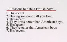 British boys, reasons to date, one direction, accents are sexy