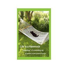 Life is a Hammock Cat Stories Book, humorous adventure, photo cartoon