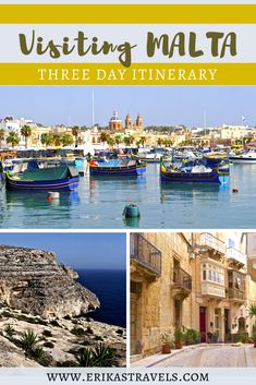 Have only three days to discover Malta island? Don't worry, this travel guide and itinerary has you covered. Discover the things to do and places to see with only three days in Malta. Europe On A Budget, Malta Island, Backpacking Europe, Most Beautiful Cities, Three Days, Beautiful Islands, Don't Worry, Travel Guides, Places To See