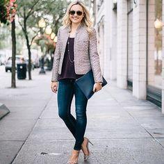 Sparkly jacket + lea