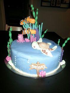 Klovnefisk på kage
