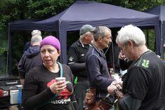 Karen Tippins, Adam Stevens & Paul Castle at Crawley & Sussex Field Champs, September 2013