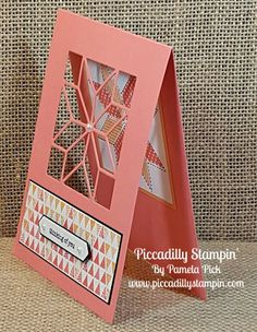 Piccadilly Stampin': Quilting with Paper: Stampin' Up! Christmas Quilt and Quilt Builder Framelits Holiday Catalog 2017 Fun Fold Cards, Folded Cards, Cool Cards, Patchwork Cards, Mini Albums, Paper Quilt, Sewing Cards, Card Patterns, Quilt Patterns