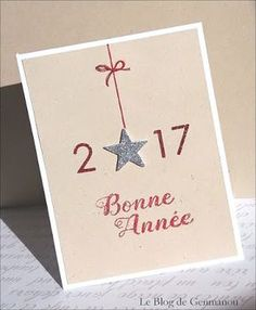 Discover recipes, home ideas, style inspiration and other ideas to try. Diy Holiday Cards, Christmas Cards 2018, Simple Christmas Cards, Handmade Christmas, Christmas Diy, Watercolor Card, Happy New Year Cards, Star Cards, Creative Cards