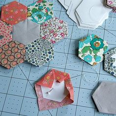 Hexagon Quilting (or English Paper Piecing) - wondering if I have the patience for a project like this. . . .