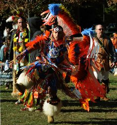 Jared Reyes, of the Fort Bragg, North Carolina Cherokee tribe, dances  during the 11th Annual Indian Festival and Pow-Wow at Stone Mountain Park on Saturday, Nov 6, 2010.  Visitors to the park listened to Native American songs and witnessed several dance competitions. Over 50 tribes from North and South America attended the event. (Johnny Crawford / jcrawford@ajc.com)