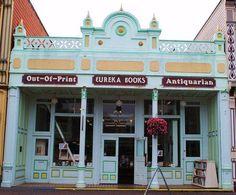 #Librerías  Eureka en California