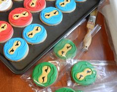 LEGO Ninjago Cookies 1 Dutzend