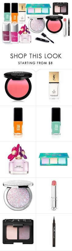 """""""Stiles Stilinski Spring Beauty Products"""" by samtiritilli666lol ❤ liked on Polyvore featuring beauty, Couture Colour, NYX, Yves Saint Laurent, JINsoon, Jin Soon, Marc Jacobs, Lime Crime, Guerlain and Christian Dior"""